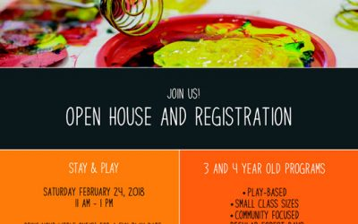 February 24, 2018 @ 11am Happy Corner Open House and Registration
