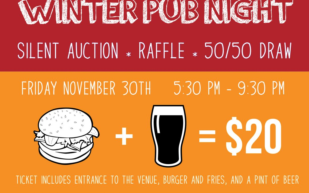 4th Annual Winter Pub Night